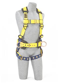 3M DBI-SALA® DELTA™ Construction Style Positioning Harness - Yellow - Large