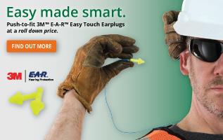 3M Easy Touch Earplugs