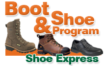 Our work boots and safety shoe program tracks eligibility and plays by your rules.